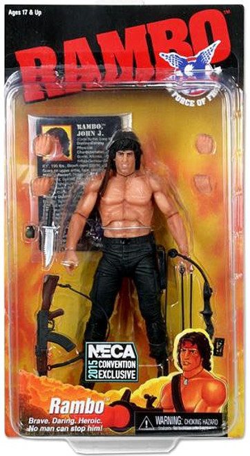 NECA Rambo Exclusive Action Figure [Force of Freedom]