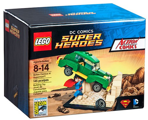 LEGO DC Super Heroes Action Comics #1 Superman Exclusive Set
