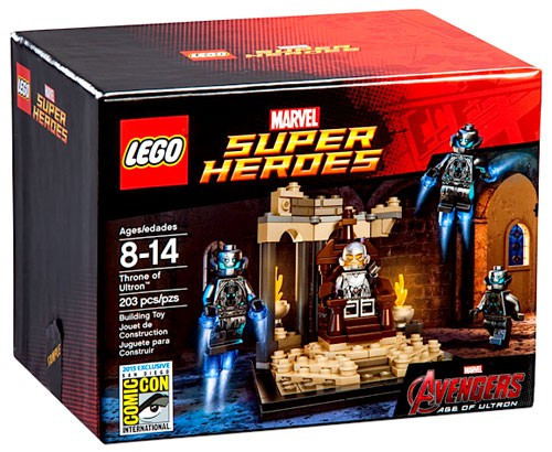 LEGO Marvel Super Heroes Avengers Age of Ultron Throne of Ultron Exclusive Set
