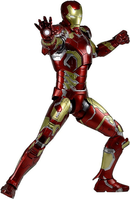 NECA Marvel Avengers Quarter Scale Iron Man Mark XLIII 43 Action Figure [Age of Ultron]