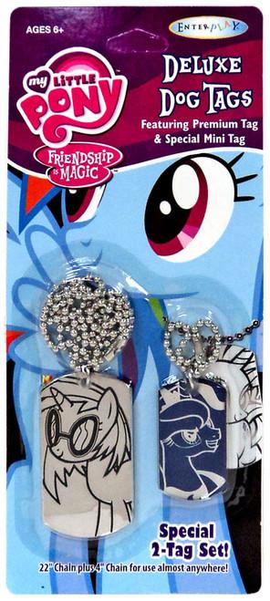 My Little Pony Friendship is Magic DJ Pon-3 & Luna Dog Tags 2-Pack