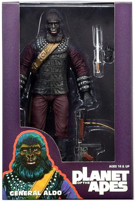 NECA Planet of the Apes Classic Series 3 General Aldo Action Figure