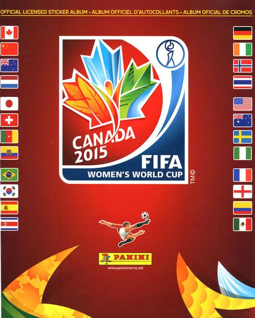 FIFA World Cup 2015 Canada Women's World Cup Sticker Album