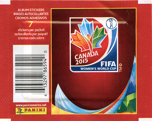 FIFA World Cup 2015 Canada Women's World Cup Sticker Pack