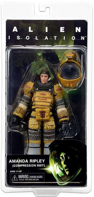 NECA Aliens Isolation Series 6 Amanda Ripley (Compression Suit) Action Figure