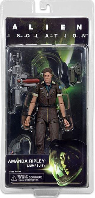 NECA Aliens Isolation Series 6 Amanda Ripley (Jumpsuit) Action Figure