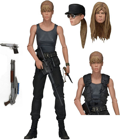 NECA Terminator 2 Sarah Connor Action Figure [Ultimate Version]