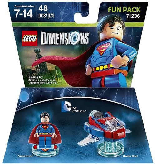LEGO Dimensions DC Comics Superman & Hover Pad Fun Pack #71236