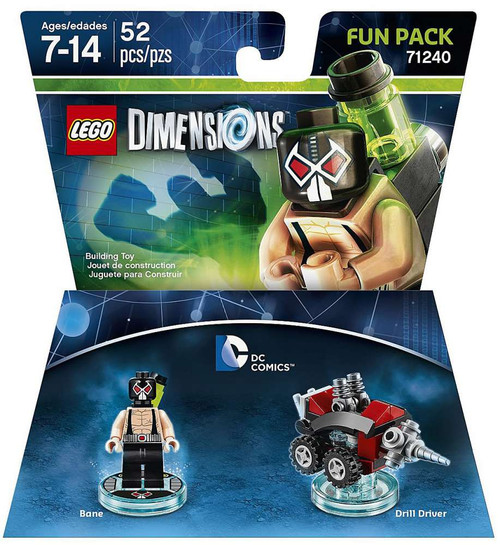 LEGO Dimensions DC Comics Bane & Drill Driver Fun Pack #71240