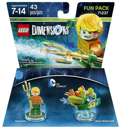 LEGO Dimensions DC Comics Aquaman & Aqua Watercraft Fun Pack #71237