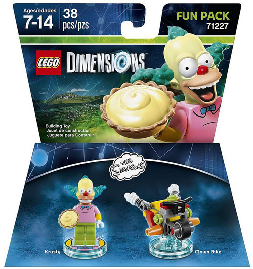 LEGO Dimensions The Simpsons Krusty & Clown Bike Fun Pack #71227