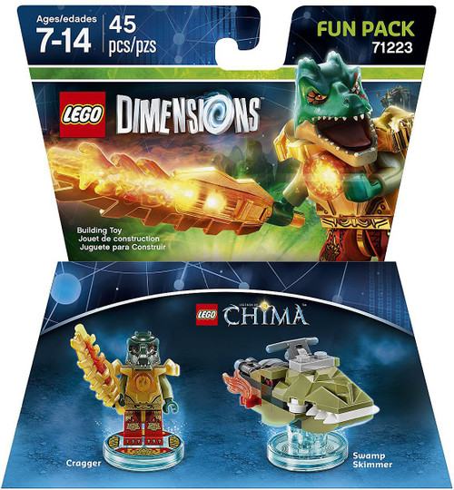 LEGO Dimensions Chima Cragger & Swamp Skimmer Fun Pack #71223