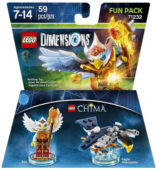 LEGO Dimensions Chima Eris & Eagle Interceptor Fun Pack #71232