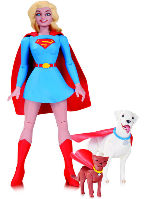 DC Designer Darwyn Cooke Series 1 Supergirl Action Figure