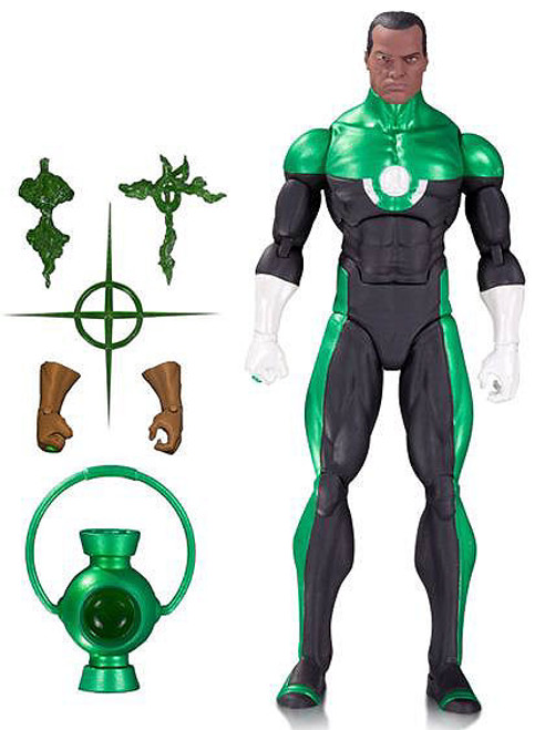 DC Comics Icons Series 4 Green Lantern Action Figure [John Stewart]
