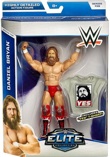 WWE Wrestling Elite Collection Series 38 Daniel Bryan Action Figure [Yes T-Shirt]