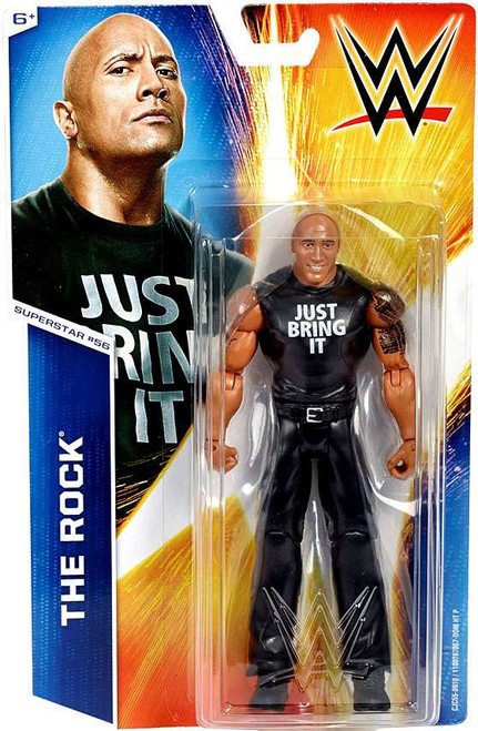 WWE Wrestling Series 54 The Rock Action Figure #56