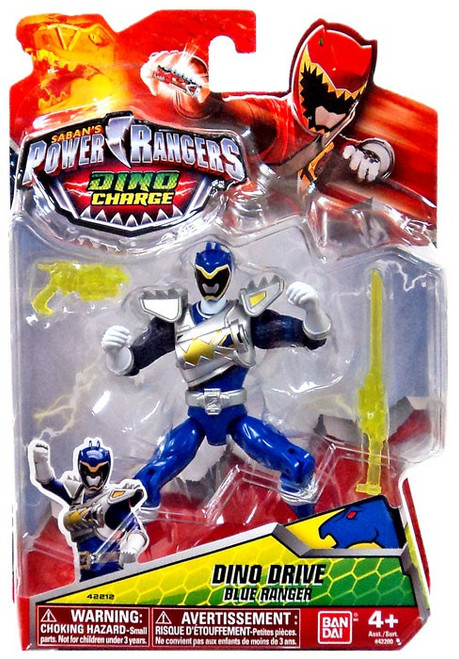 Power Rangers Dino Charge Dino Drive Blue Ranger Action Figure