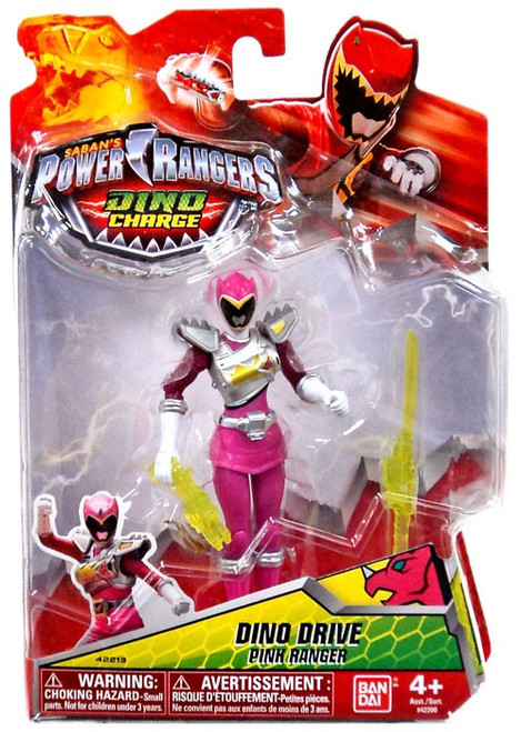 Power Rangers Dino Charge Dino Drive Pink Ranger Action Figure