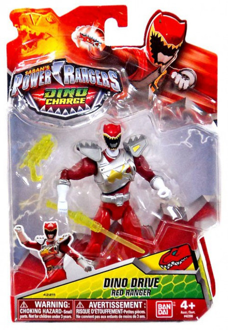 Power Rangers Dino Charge Dino Drive Red Ranger Action Figure