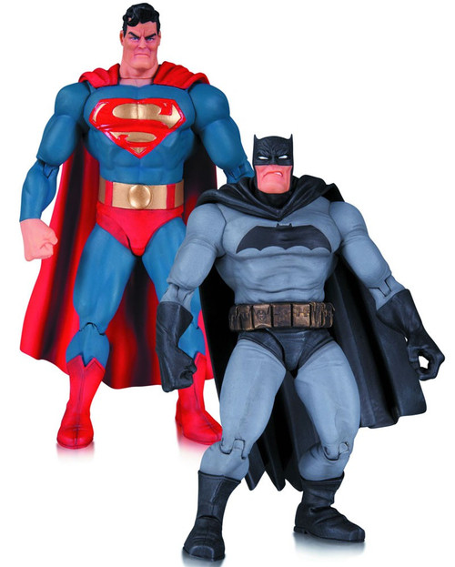 Batman Dark Knight Returns 30th Anniversary Action Figure 2-Pack