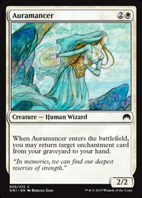 MtG Origins Common Auramancer #5