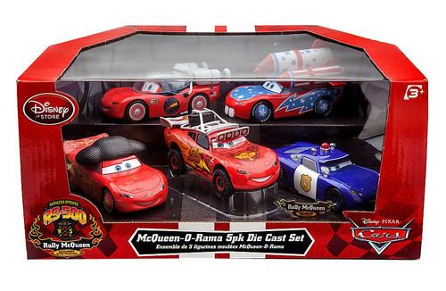 Disney / Pixar Cars McQueen-O-Rama Diecast Car 5-Pack