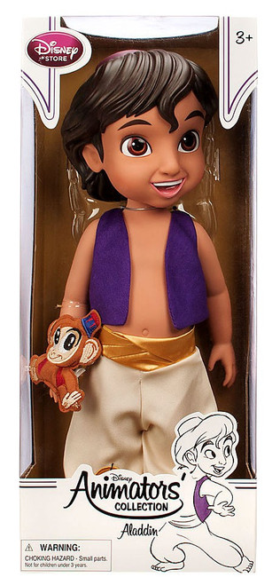 Disney Princess Animators' Collection Aladdin Exclusive 16-Inch Doll