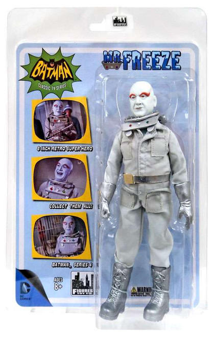 Batman 1966 TV Series Series 4 Mr. Freeze Action Figure