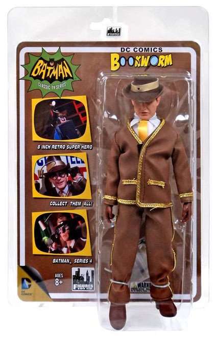 Batman 1966 TV Series Series 4 Bookworm Action Figure
