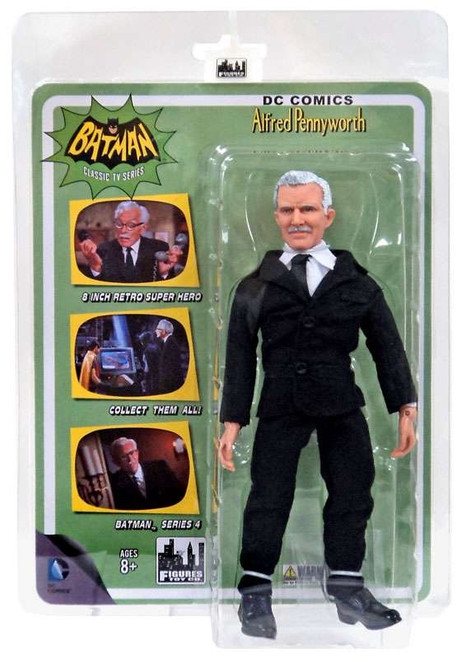 Batman 1966 TV Series Series 4 Alfred Action Figure