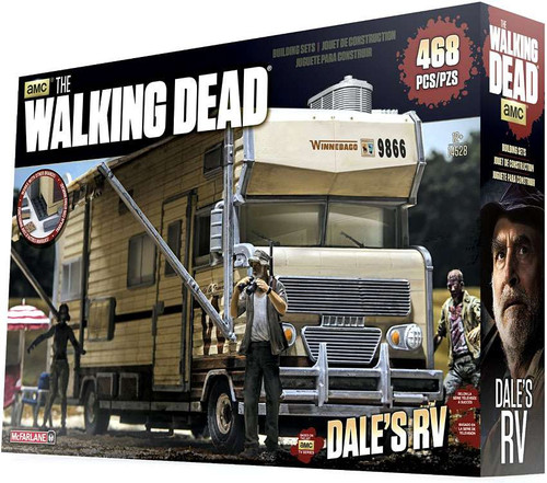 McFarlane Toys The Walking Dead Dale's RV Building Set #14528