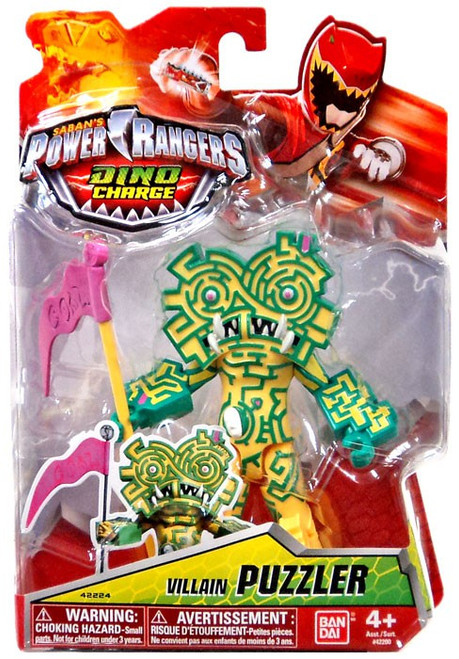 Power Rangers Dino Charge Puzzler Action Figure