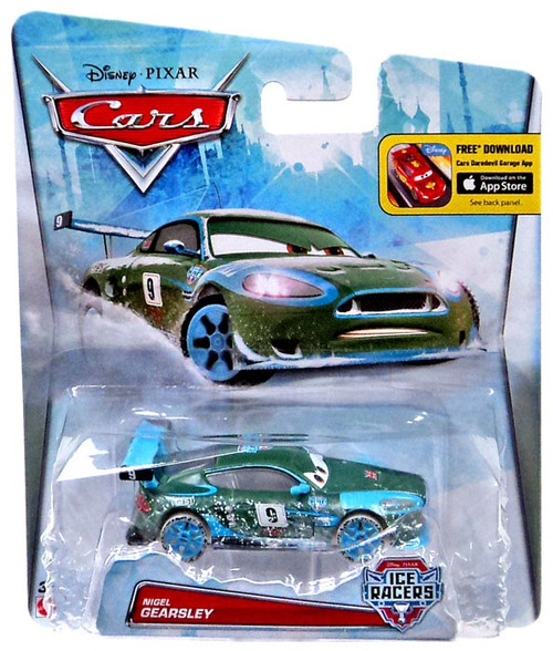 Disney / Pixar Cars Ice Racers Nigel Gearsley Diecast Car [Special Icy Edition]