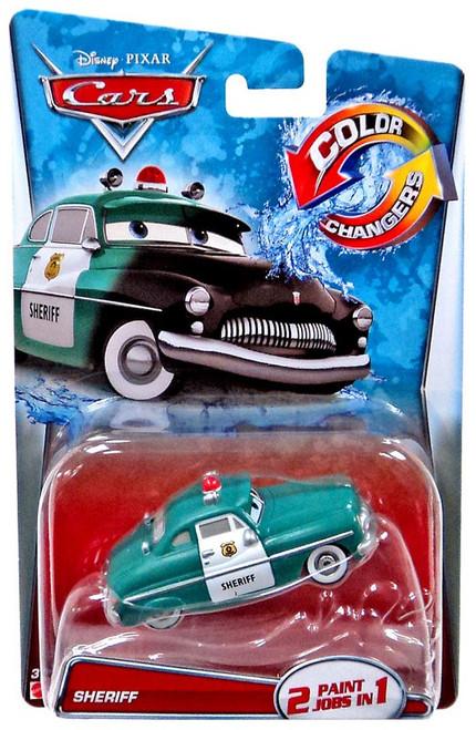 Disney / Pixar Cars Color Changers Sheriff Diecast Car [2015]