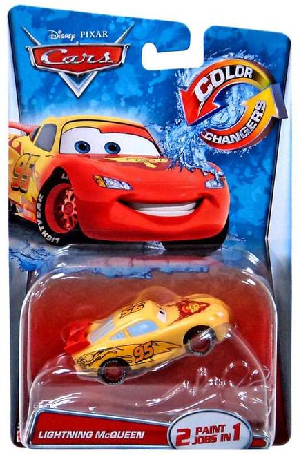 Disney / Pixar Cars Color Changers Lightning McQueen Diecast Car [2015]