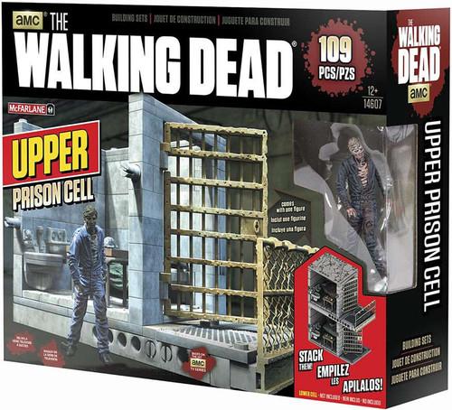 McFarlane Toys The Walking Dead UPPER Prison Cell Building Set