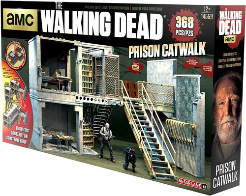 McFarlane Toys The Walking Dead Prison Catwalk Building Set