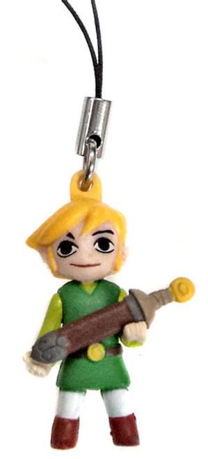 The Legend of Zelda Mascot Danglers Link Dangler [Holding Sword]