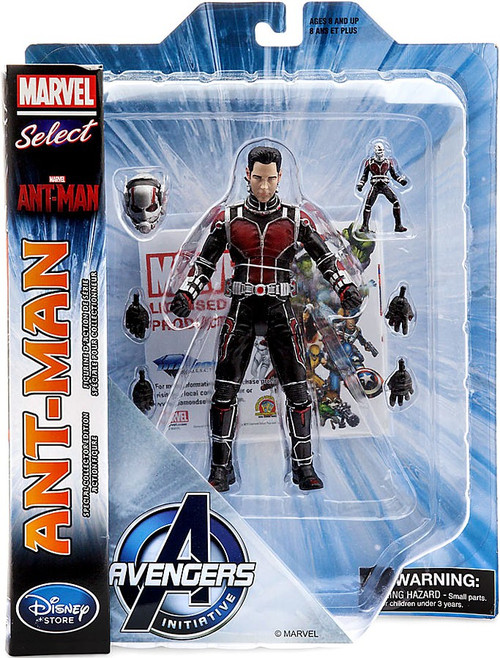 Marvel Select Ant-Man Exclusive Action Figure [Paul Rudd's Head]