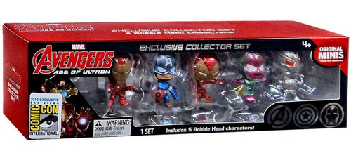 Marvel Avengers Age of Ultron Exclusive 2-Inch Bobblehead Set