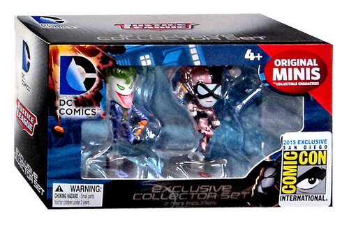 DC Original Minis The Joker & Harley Quinn Exclusive Mini Figure 2-Pack