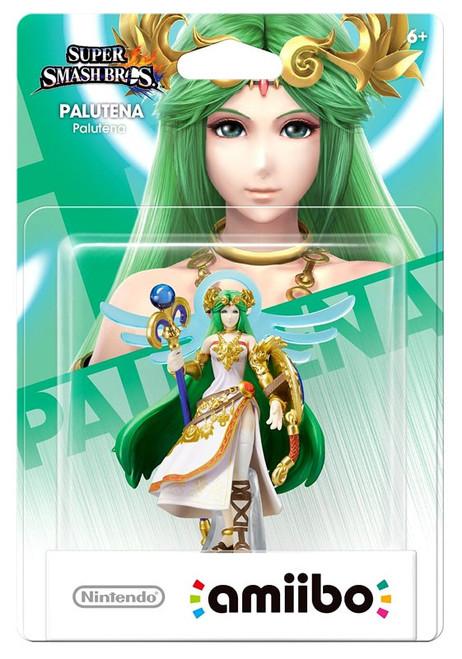 Nintendo Super Smash Bros Amiibo Palutena Exclusive Mini Figure