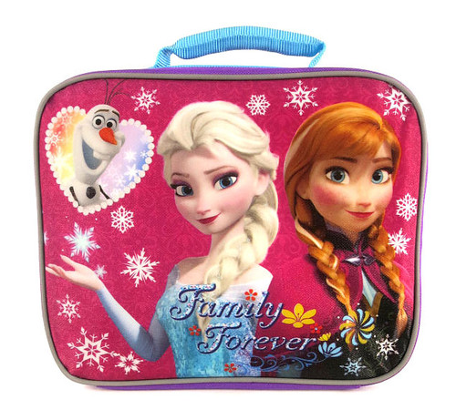 Disney Frozen Family Forever Lunch Tote [Pink & Purple]