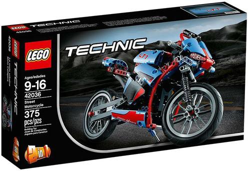 LEGO Technic Street Motorcycle Set #42036