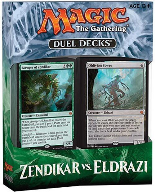 MtG Trading Card Game Zendikar vs. Eldrazi Duel Decks