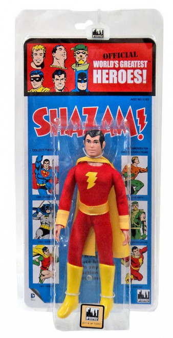 DC World's Greatest Heroes! Kresge Retro Style Series 1 Shazam! Retro Action Figure