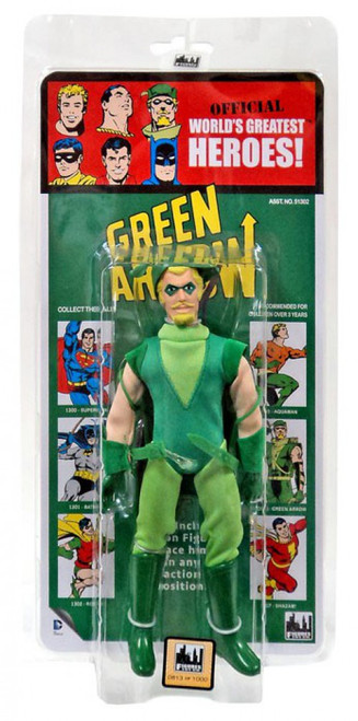 DC World's Greatest Heroes! Kresge Retro Style Series 2 Green Arrow Retro Action Figure
