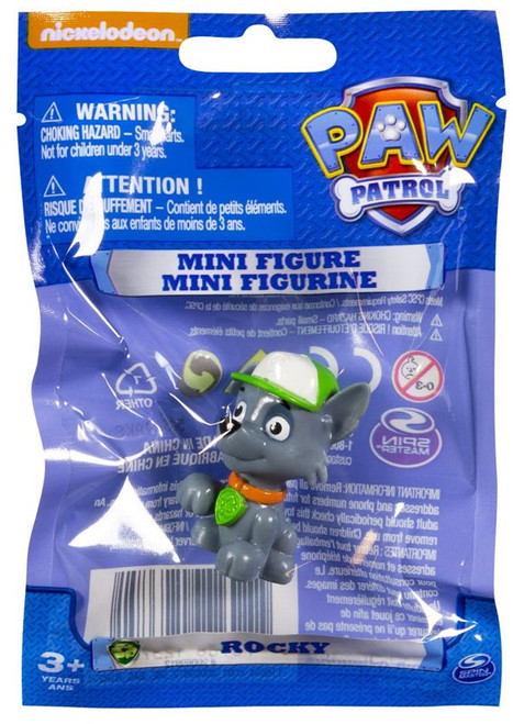 Paw Patrol Rocky Mini Figure [Bagged]