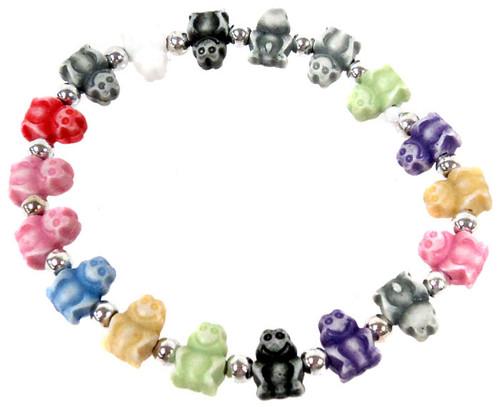 Frogz Rainbow Frogs Bracelet